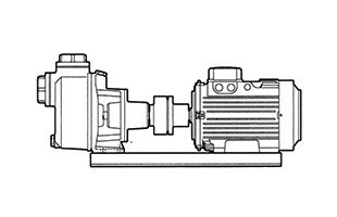 CA – Self Priming Centrifugal Pump