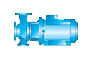 MN – Horizontal Monobloc Centrifugal Pump